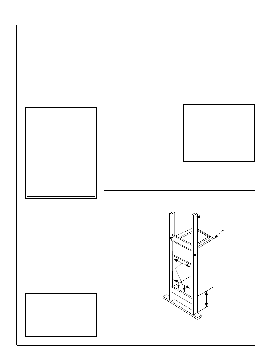 Warning Uc Recessed Wall Mounting First Co Vertical Front Refrigeration Wiring Diagram 5 Ton Return With Electric Heat User Manual Page 2 4