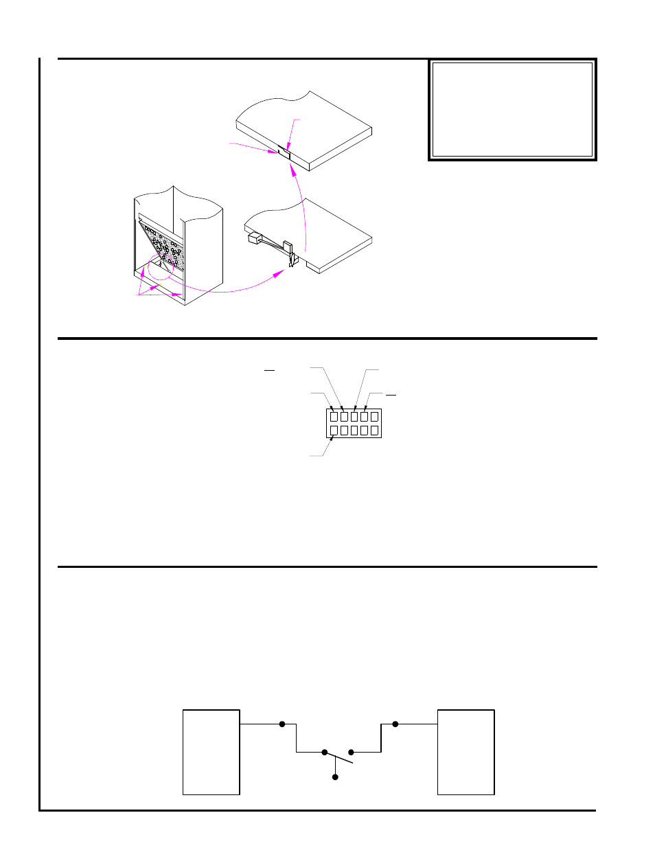 Auxillary Float Switch Installation Brushless Dc Motor Connections Diagram First Co Uc Vertical Front Return With Electric Heat User Manual Page 4