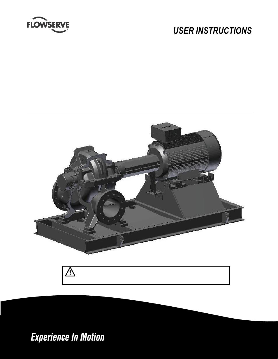 Flowserve centrifugal pump manual