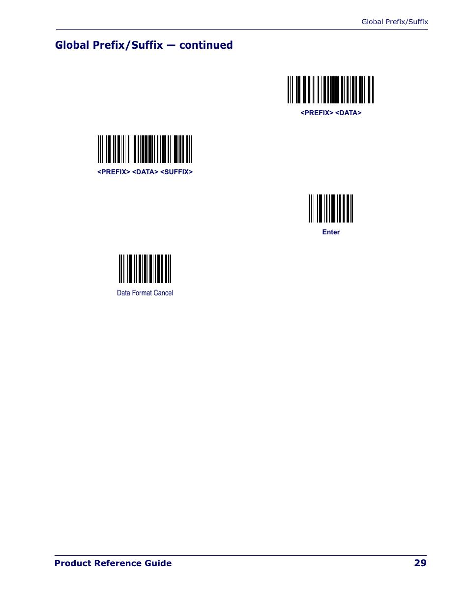 global prefix suffix continued datalogic scanning quickscan qd rh manualsdir com Operators Manual Wildgame Innovations Manuals