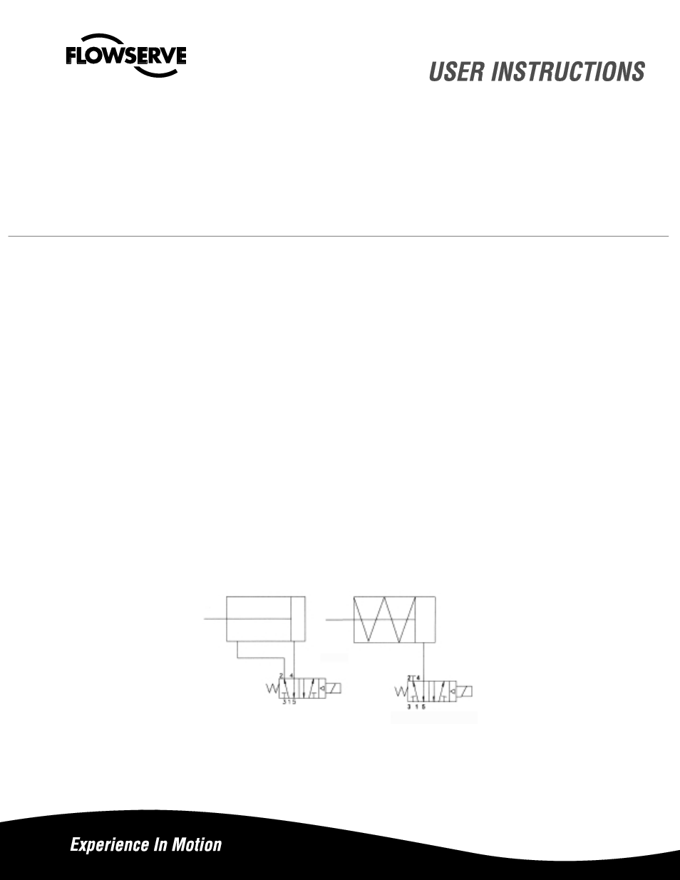 flowserve aviator ii valve controller user manual 8 pages