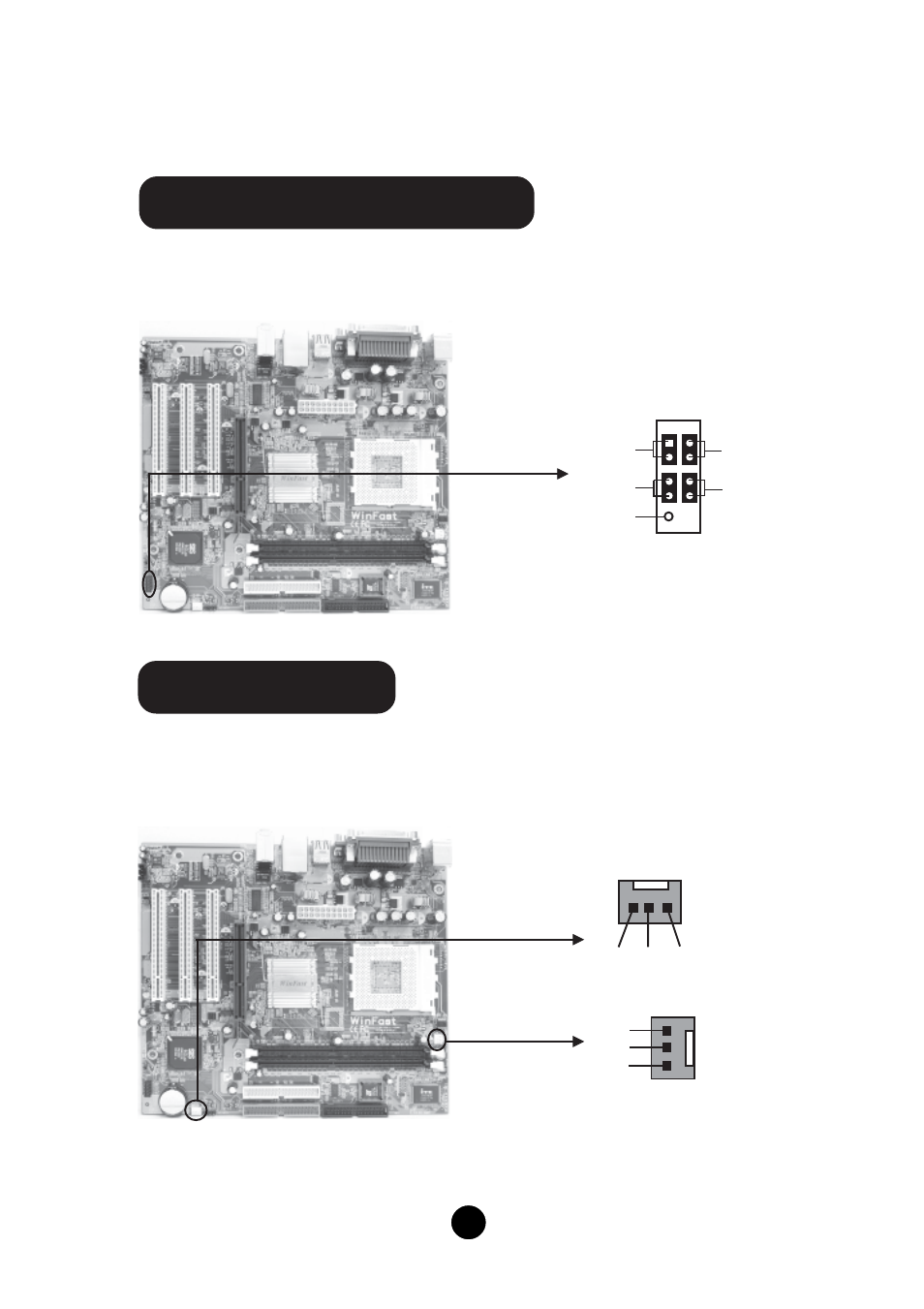 Front Panel Connector Fp1 Cpu Fan Fan1 Foxconn K7s741gxmg 6l Computer Power Switch Wiring Diagram User Manual Page 5 10