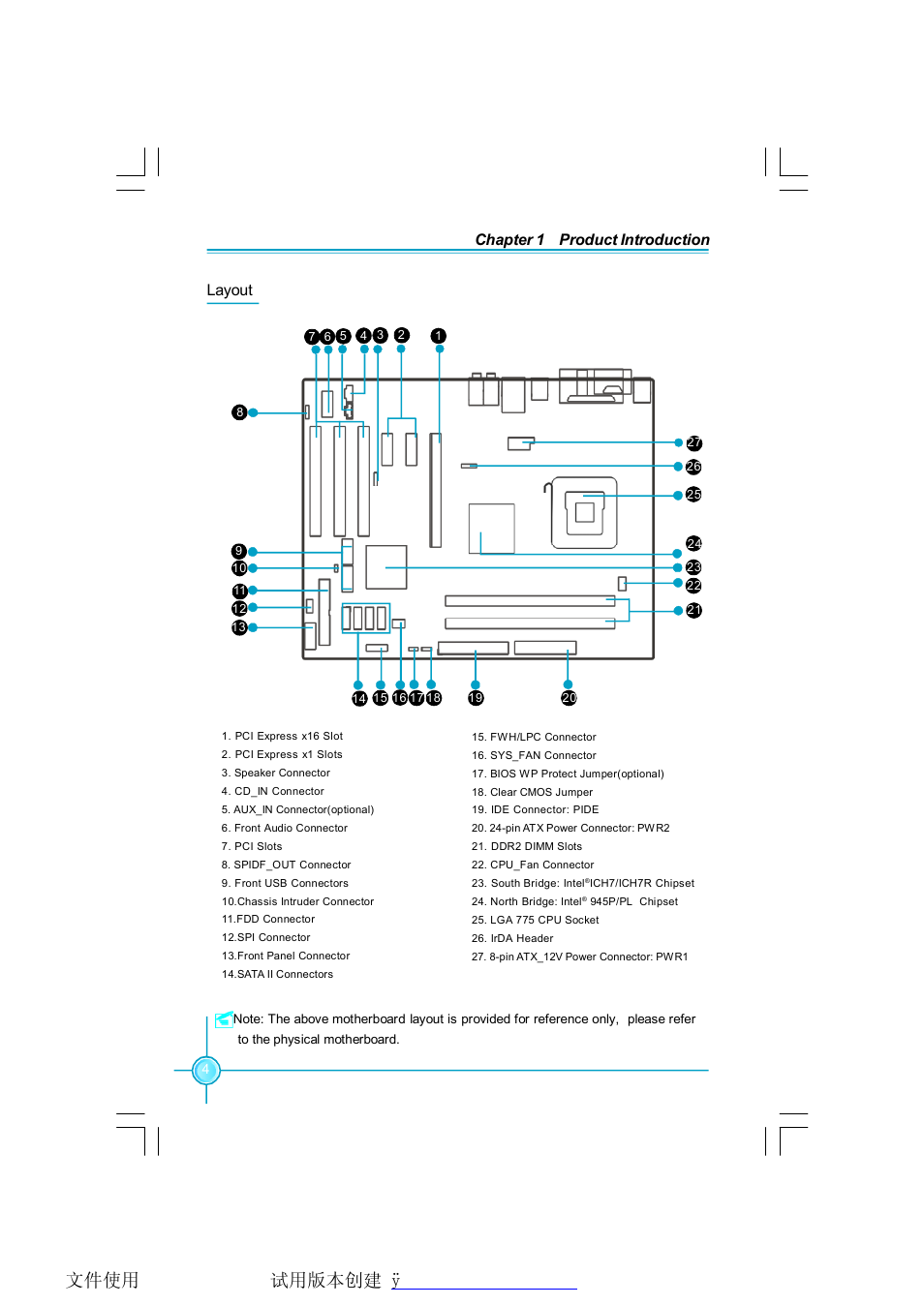Foxconn 945pl7ae 8krs2hv User Manual Page 11 72 Also For Power Connectors Of The Front Panel Connector Your Reference 8ks2hv Ks2h 945p7ae 945p7ad 8ekrs2h 8ekrs2hv