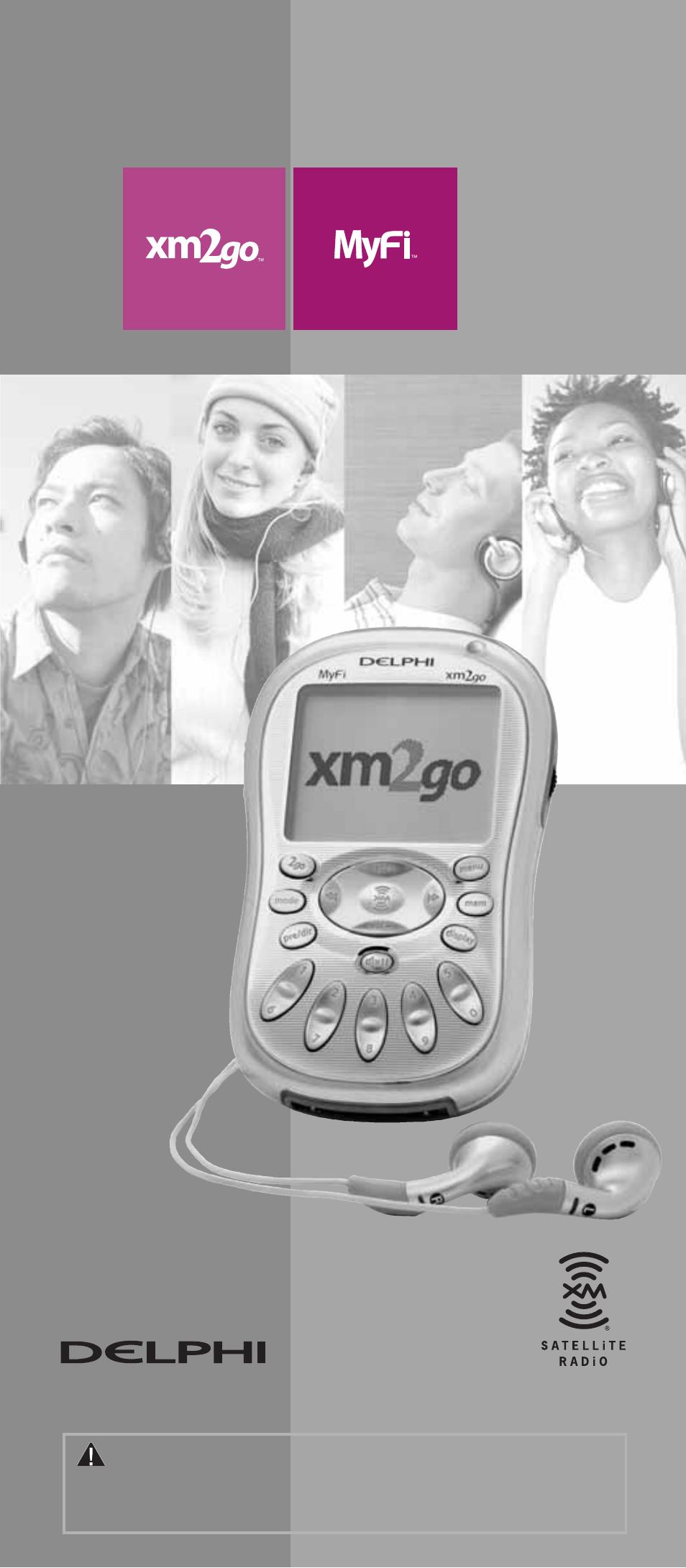 delphi xm2go sa10113 user manual 10 pages rh manualsdir com Delphi XM Radio Accessories delphi xm2go user manual