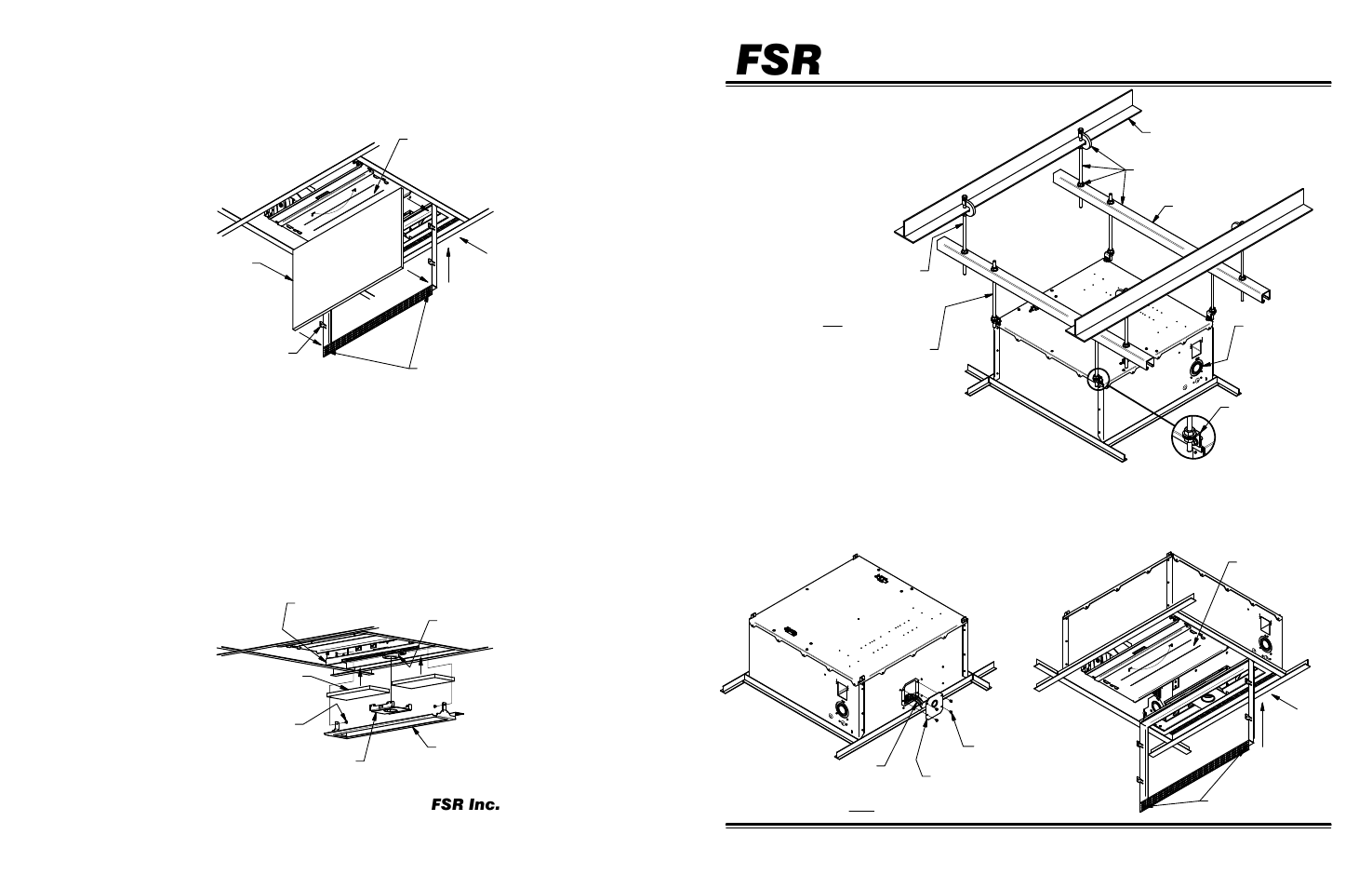 Fsr Cb 224p Sp User Manual 2 Pages Wiring Ceiling Box