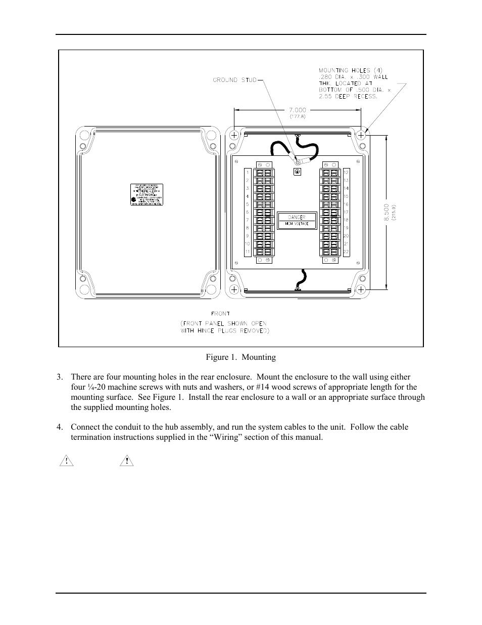GAI-Tronics 9974 Junction Box User Manual | Page 2 / 5