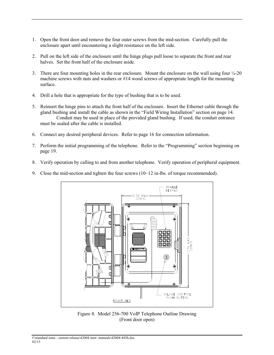 Model 256 700 Gai Tronics 226 Hanset Voip Telephones With Wiring Diagram Keypad User Manual Page 12 27