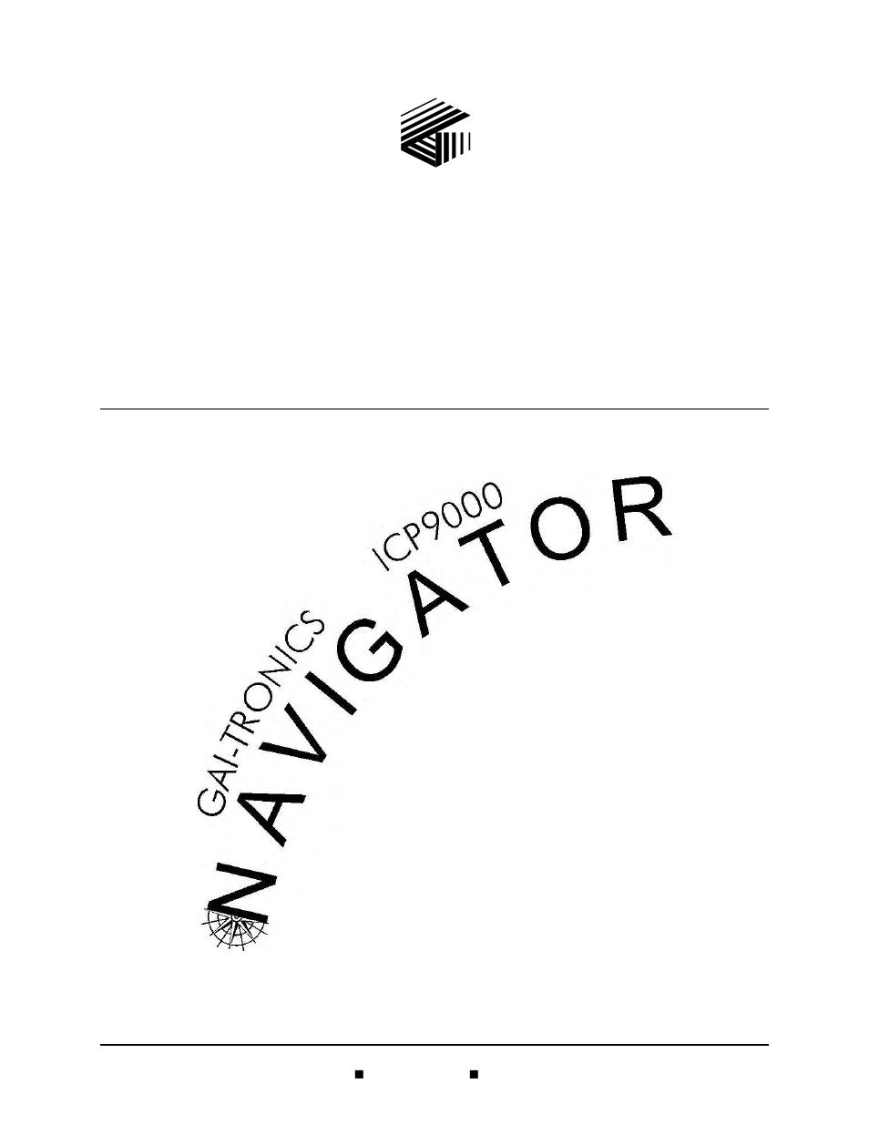 GAI-Tronics ICP9000 Navigator Series Console Installation