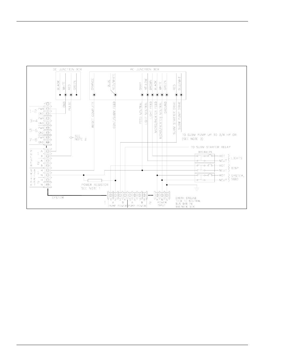 9852qx, 9853qx, 9840qx, 9850ax, 9850axs dispensers   gasboy 1000 series  fuel management system installation user manual   page 48 / 68