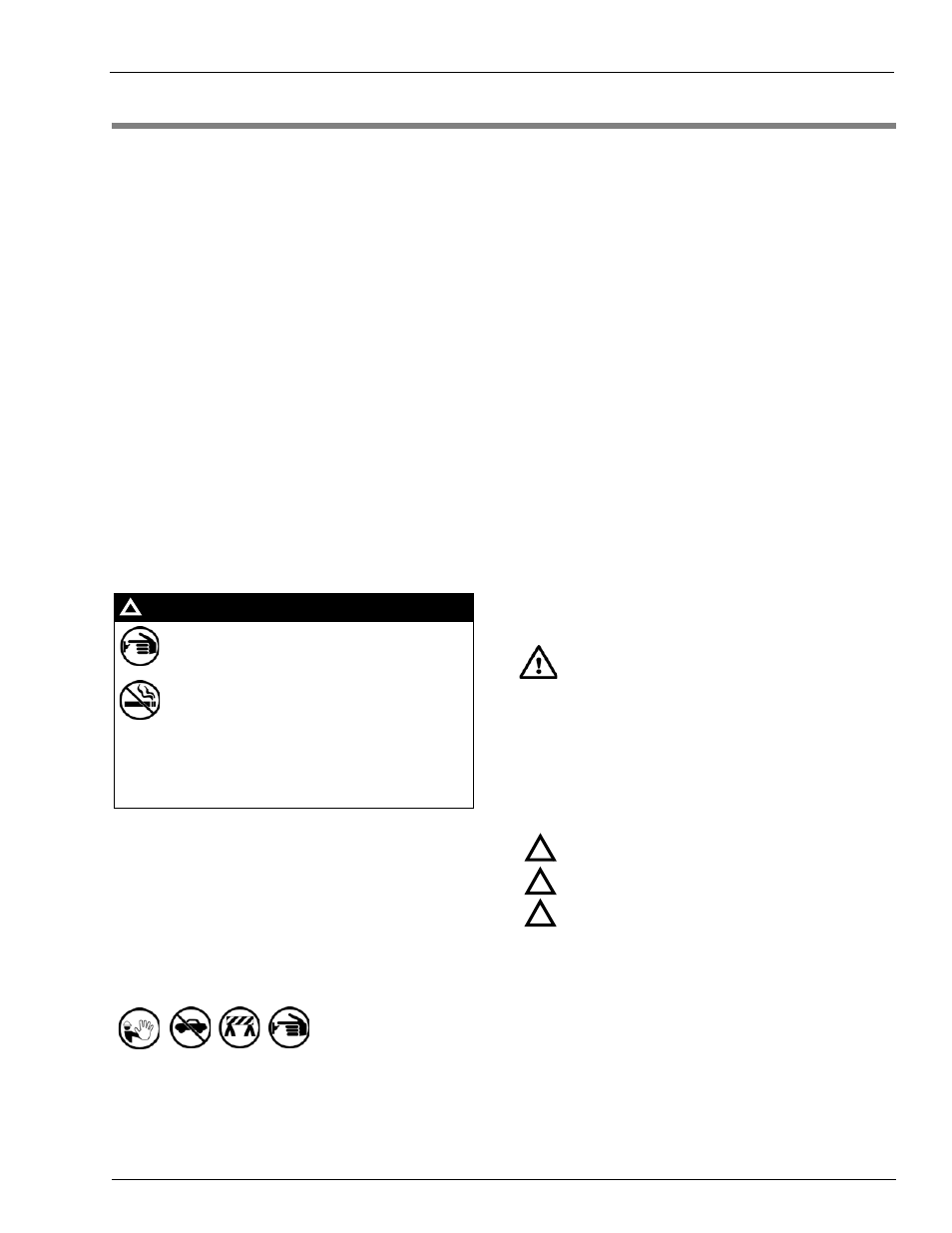2 Important Safety Information Safety Symbols And Warning Words