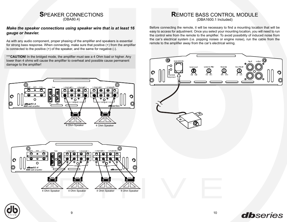 db drive amp wiring diagram db drive amp wiring diagram ... on