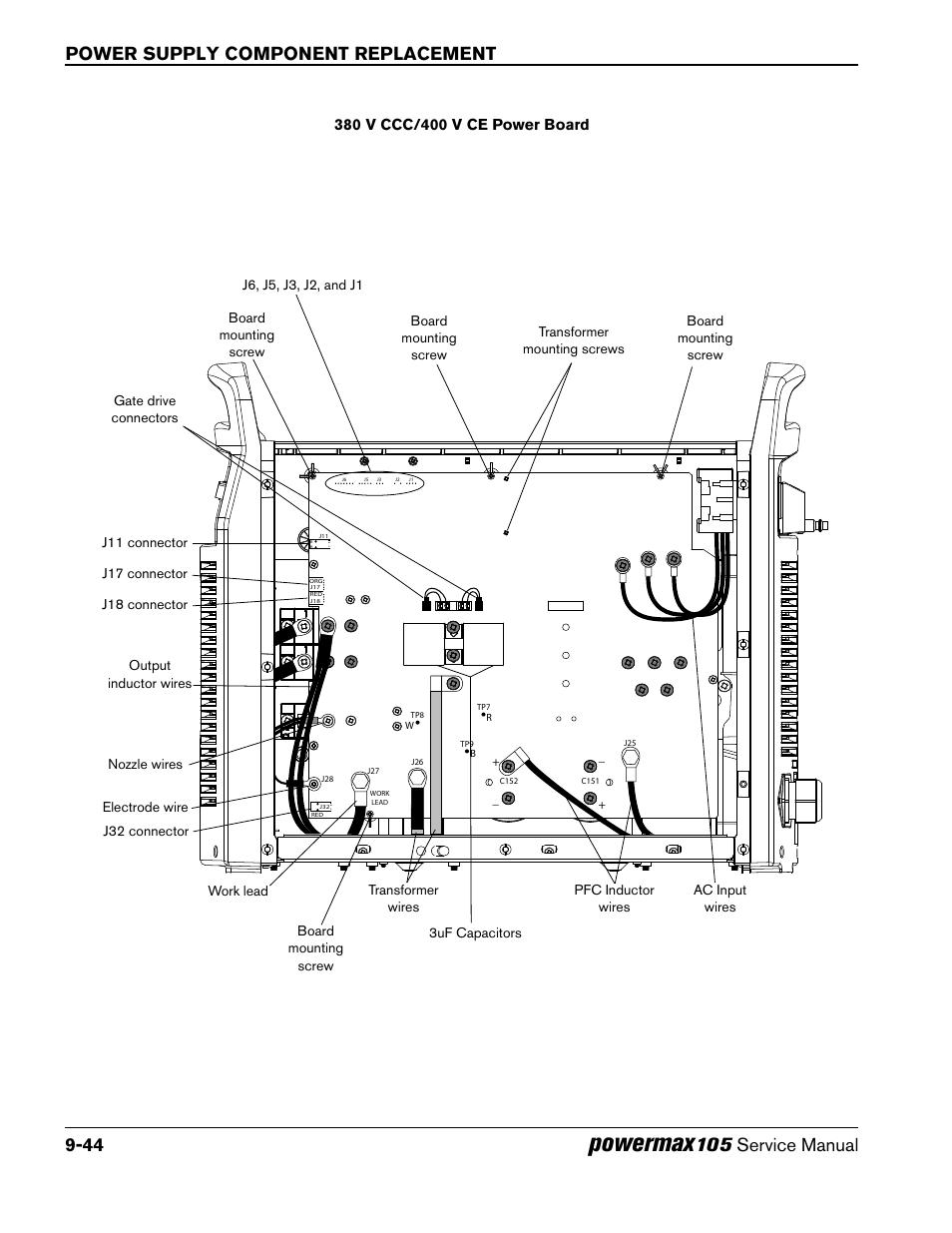 powermax wiring diagram