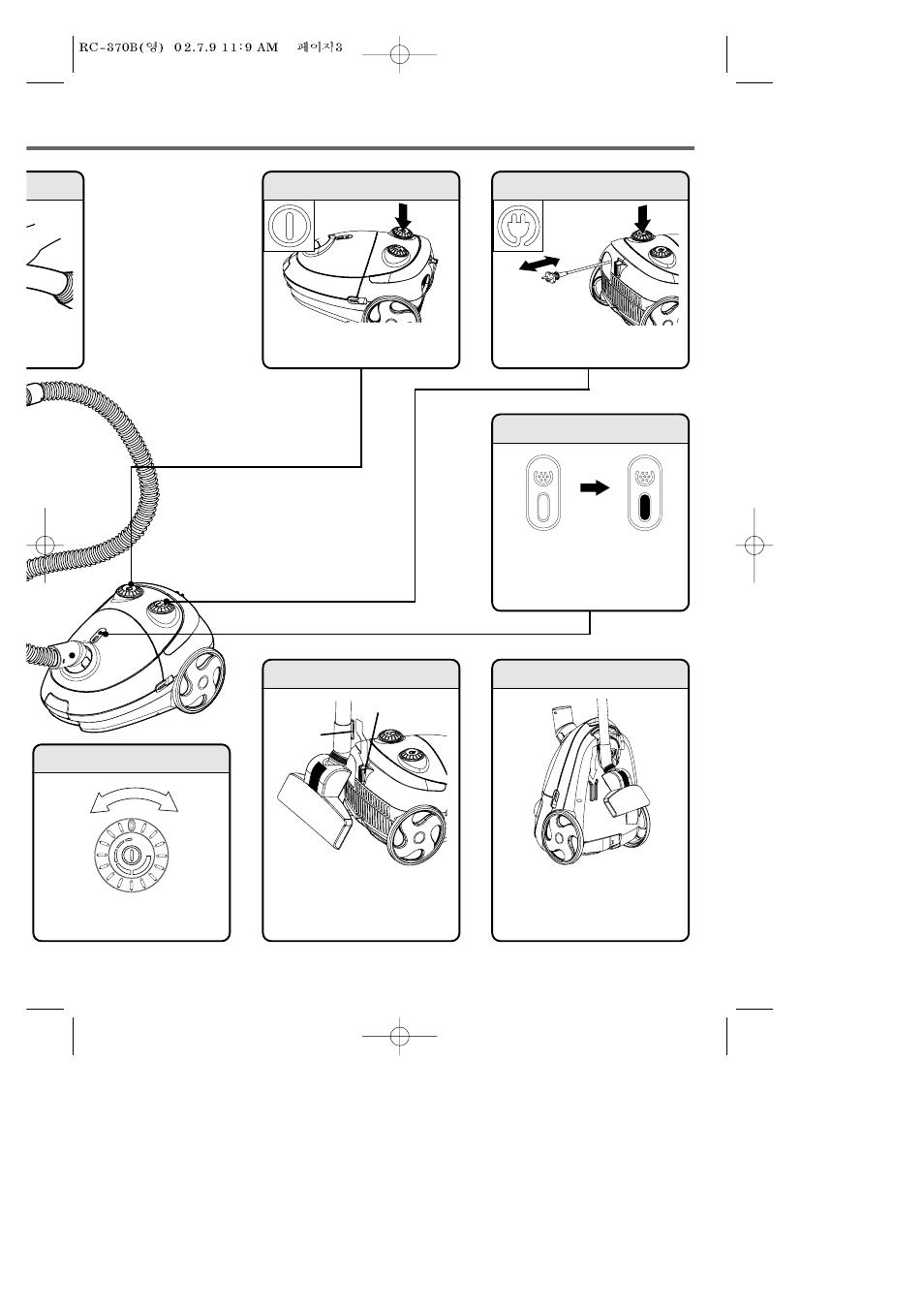 Daewoo RC-370B User Manual | Page 3 / 6
