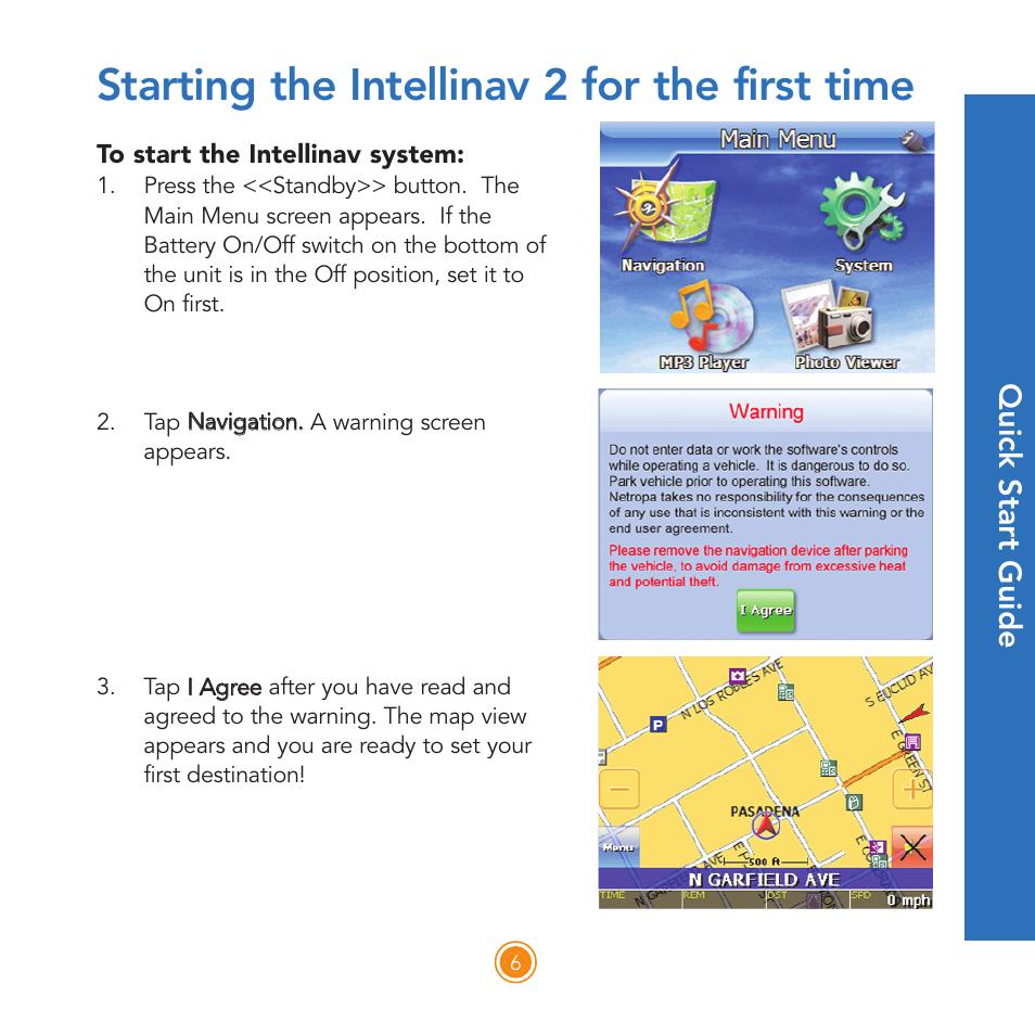 intellinav user manual