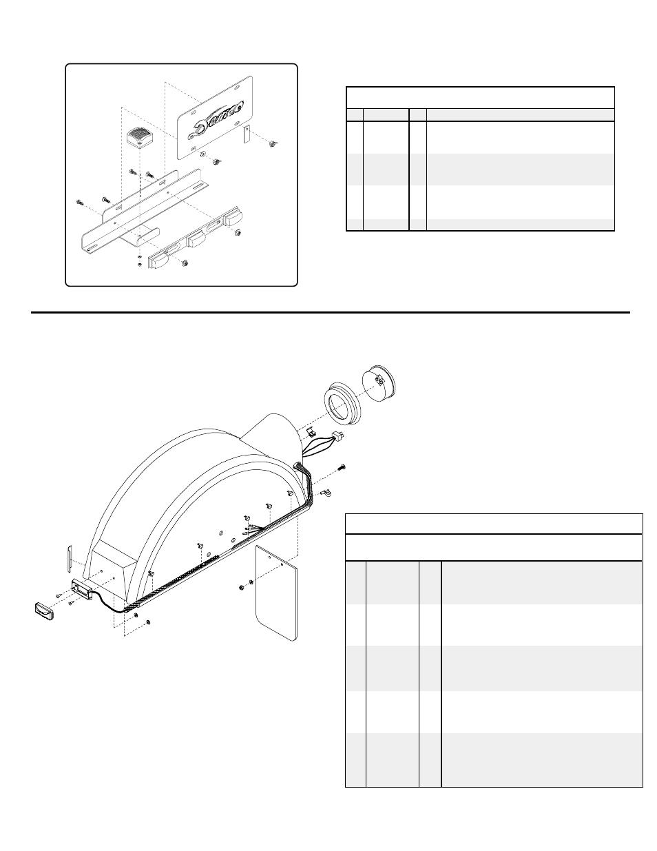 license plate bracket assembly fender assembly parts list demco rh manualsdir com Demco Sprayers Demco Electric
