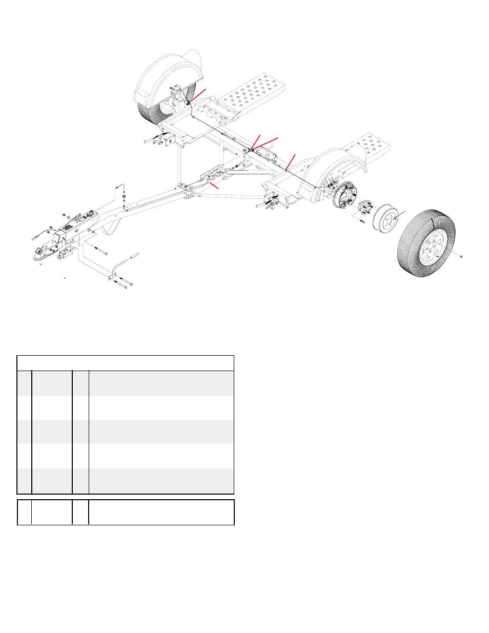 3 16 Brake Line >> Surge brakes parts breakdown, Surge brakes parts list, Bleeding the system | Demco Kar-Kaddy 3 ...