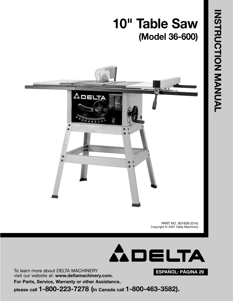 delta 36 600 page1 delta 36 600 user manual 29 pages Delta Table Saw Belt Replacement at love-stories.co