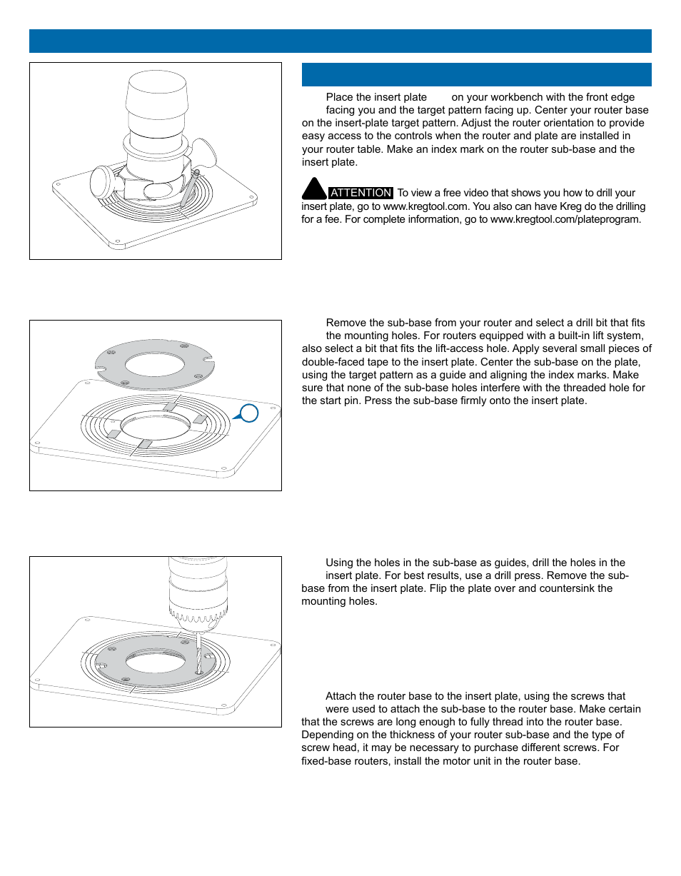 How to install router table insert plate image collections wiring kreg prs1025 precision router table top user manual page 6 20 keyboard keysfo image collections greentooth Gallery