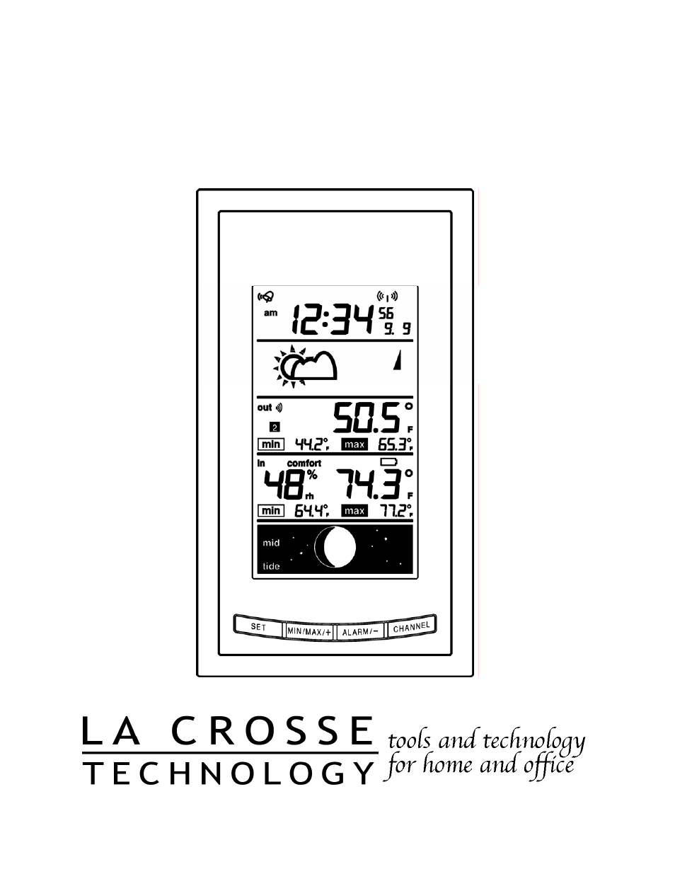 la crosse technology ws 9075u user manual 45 pages also for rh manualsdir com La Crosse Thermometer Manual la crosse technology weather station user manual