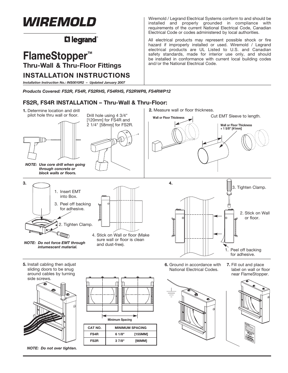 Legrand Fs User Manual 8 Pages Also For Bztpp Series Rc3aptcbk Le Grand Cat 6 Cable Wiring Diagram Rc3aptcgy Rc4ktcbk Rc4ktcgy Rc4ktcvy Rc4ktcal Rc4ktcbs Rc4ktcab Rc9 Poke Thru