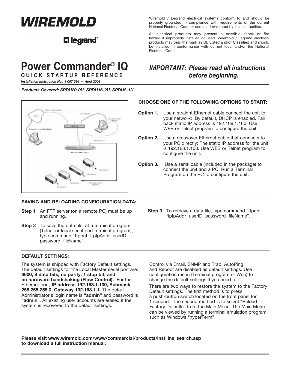 Rc product user manuals | rc toys sales and services. Power commander  downloads.