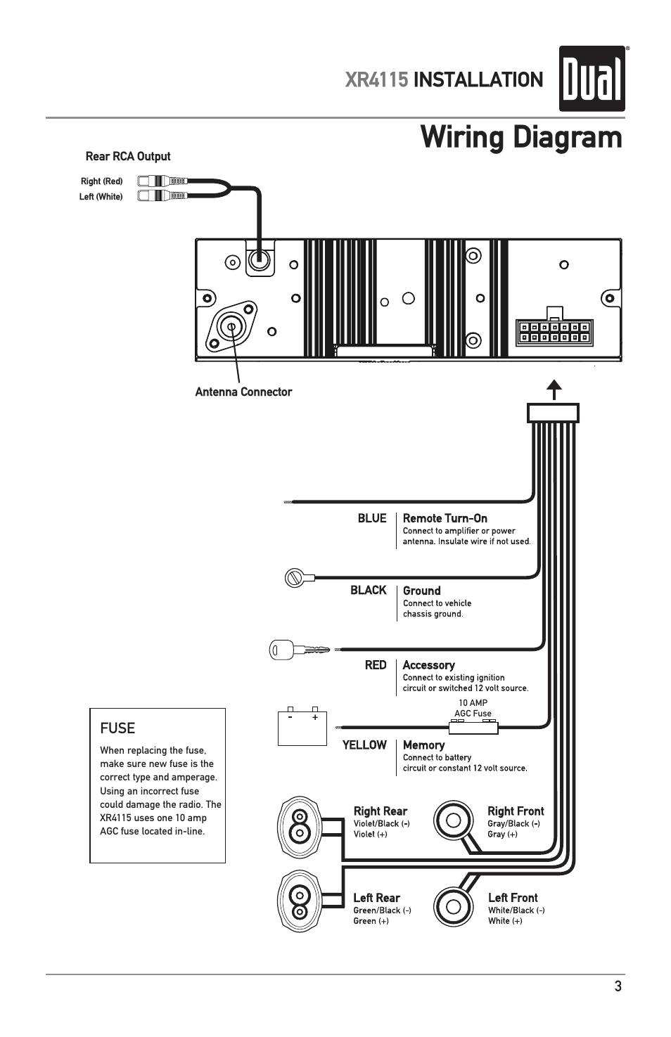 Dual Xd7500 Wiring Diagram from www.manualsdir.com