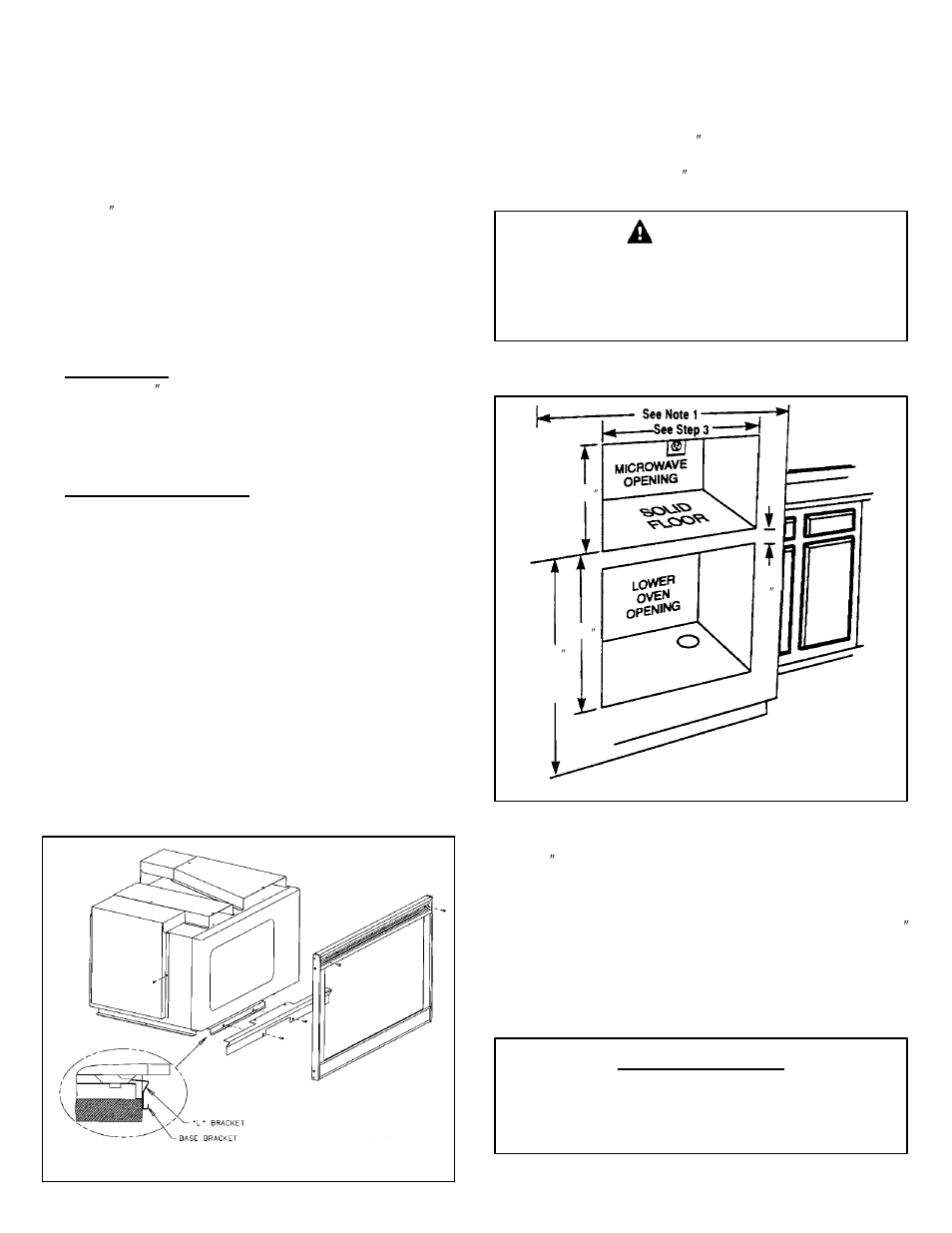Important, Caution, Save for local electrical inspector's use | Maytag  MMC5000BDB Installation User Manual