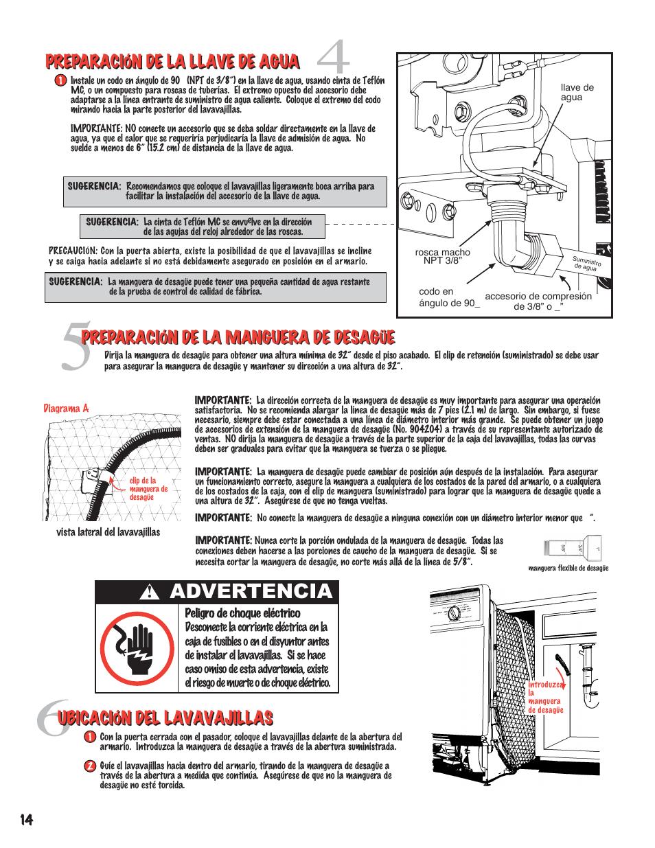 advertencia preparaci n de la llave de agua ubicaci n del rh manualsdir com manual installation autocad express tools Installation Guide