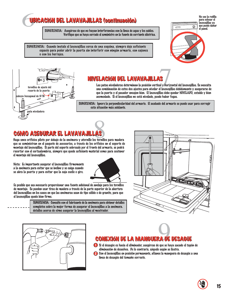 maytag mdb6100awb installation user manual page 15 16 original rh manualsdir com manual installation autocad express tools Installation Guide