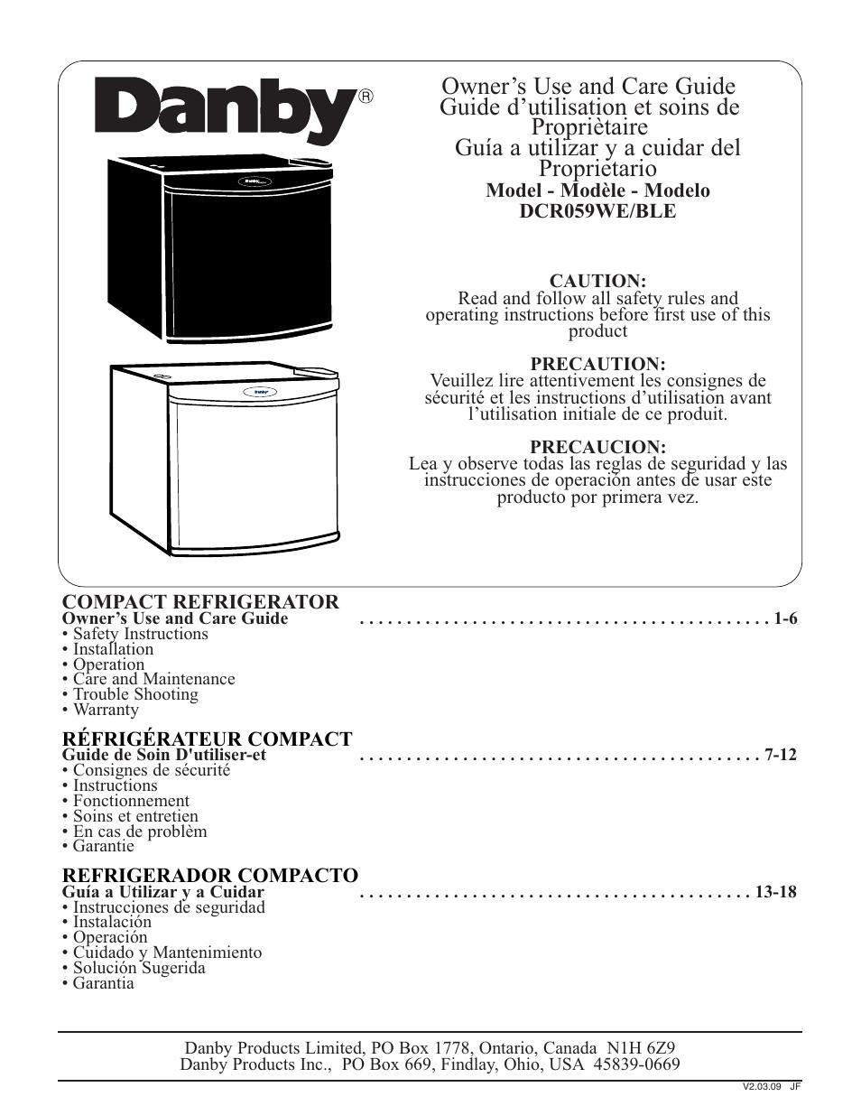 danby refrigerator manual image refrigerator nabateans org rh nabateans org danby diplomat mini fridge manual danby diplomat mini fridge manual