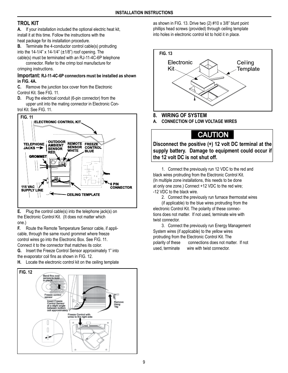 Brisk Air Wiring Diagram Libraries Dometic 590 Series User Manual Page 9 12 Also Fordometic