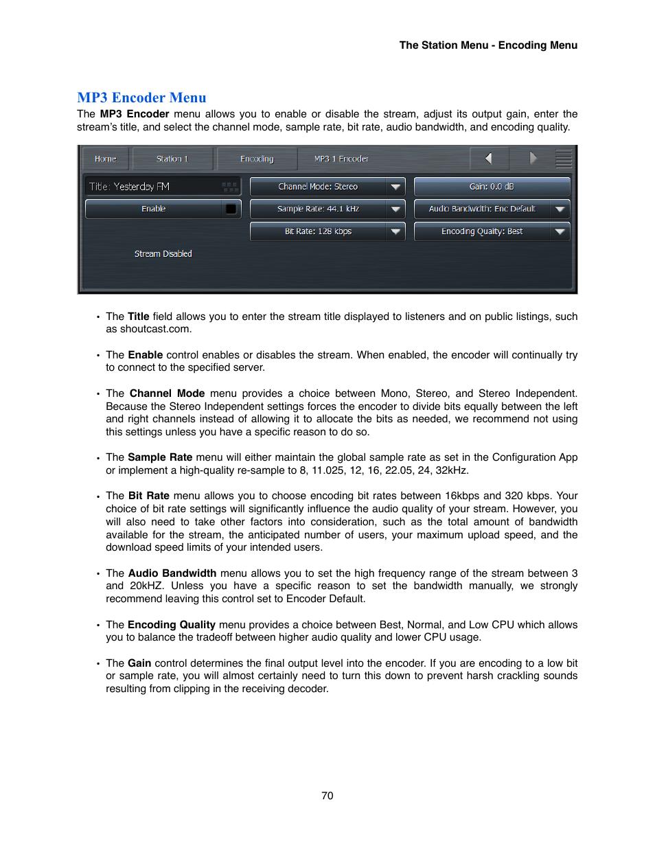 mp3 encoder menu omnia audio omnia 9 xe user manual page 70 rh manualsdir com omnia one user manual omni user manual k10048254