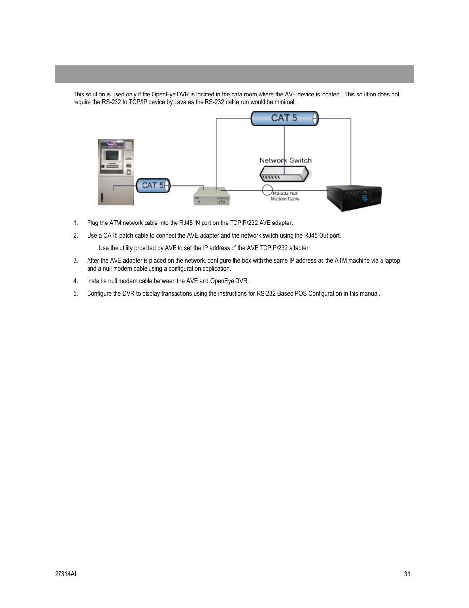 in room installation configuration openeye sw rwtcp user manual in room installation configuration openeye sw rwtcp user manual page 31 51