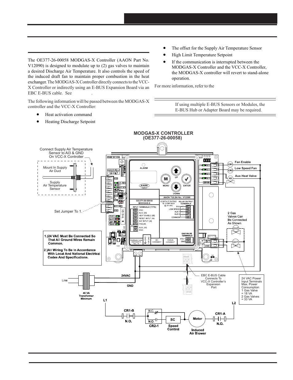 Modgas X Controller Wiring Vcc Technical Guide Orion Mac Valve Diagram System User Manual Page 47 120