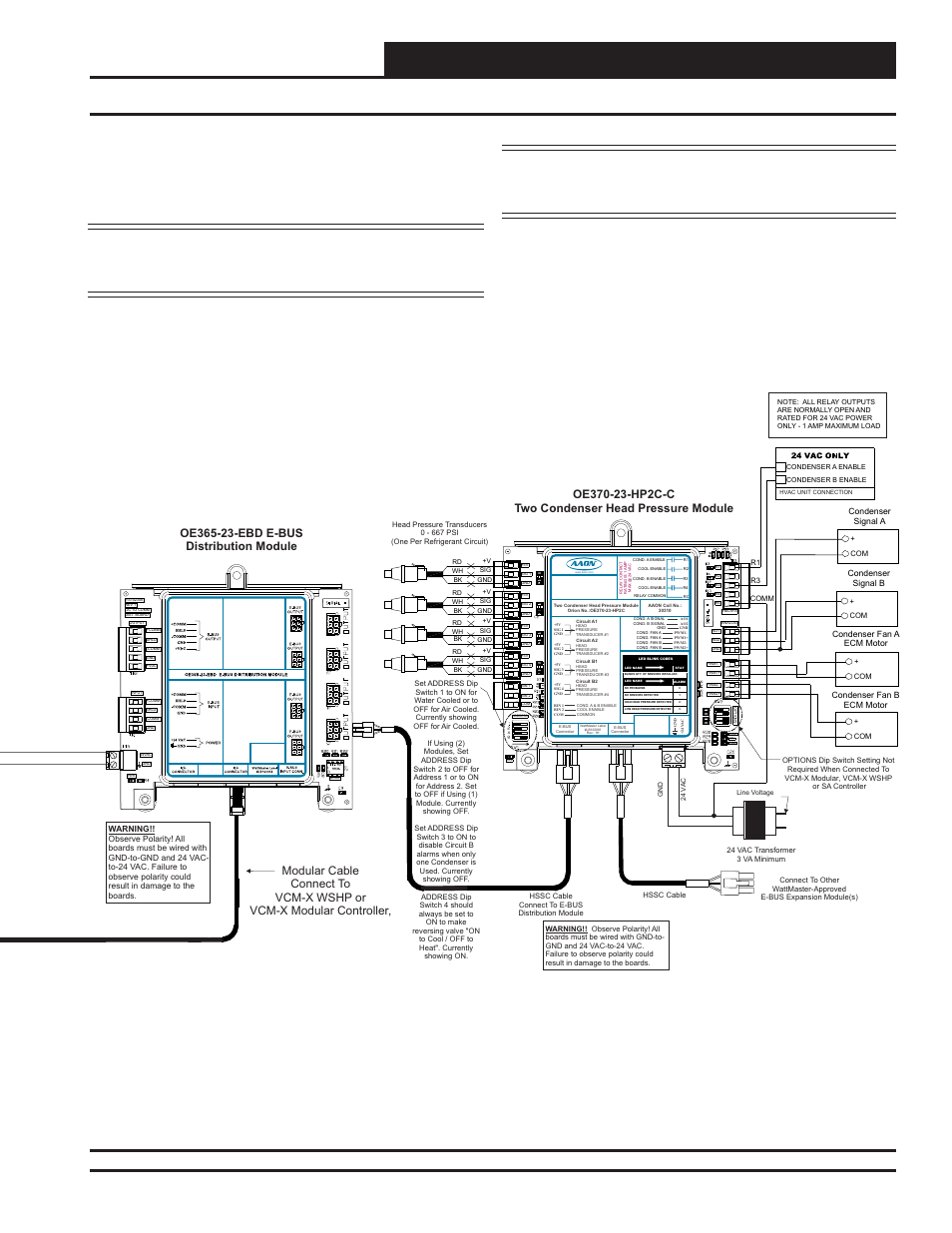 Two Condenser Head Pressure Module Technical Guide Orion System Ecm Motor Wiring Diagram For Hvac User Manual Page 7 24