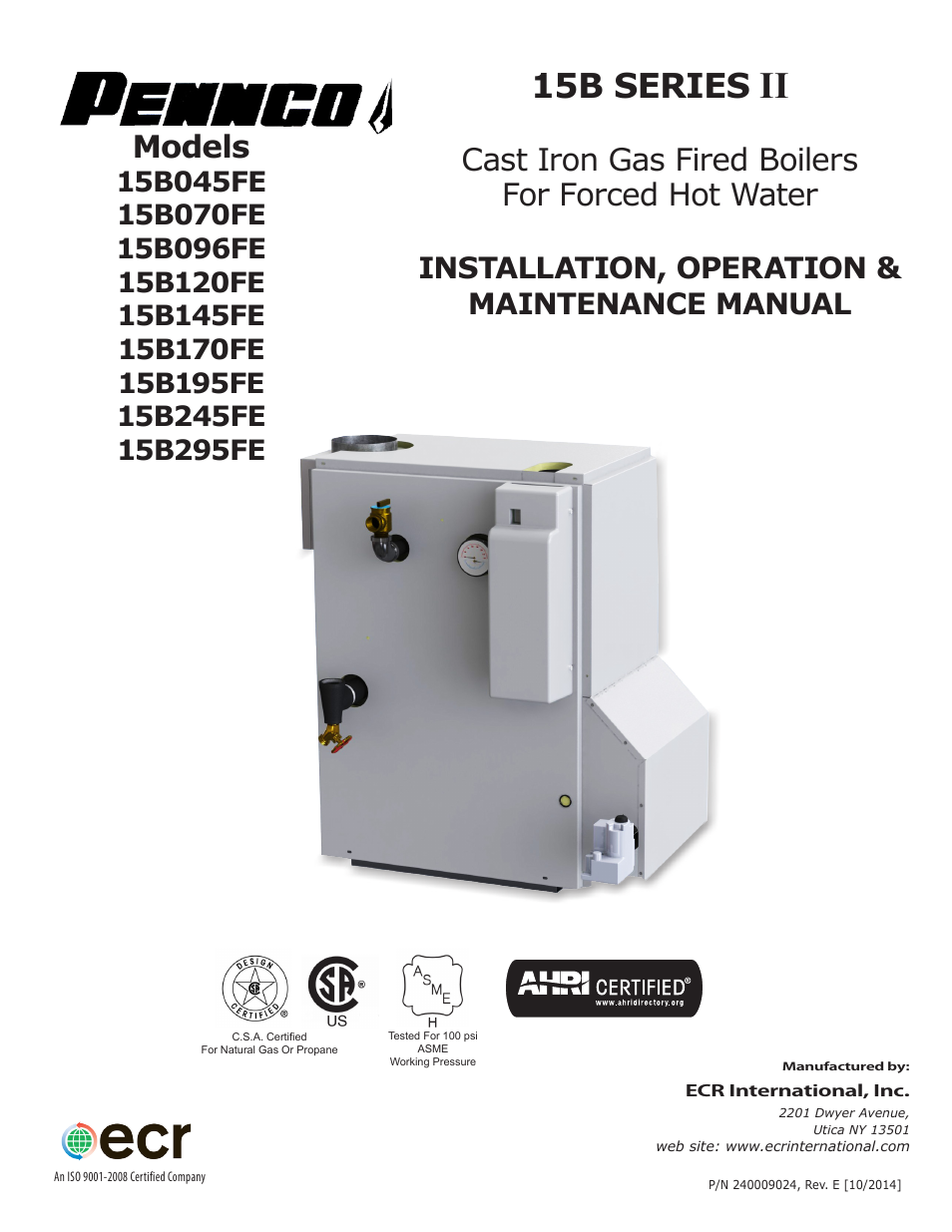 pennco 15b045fe user manual 32 pages also for 15b070fe
