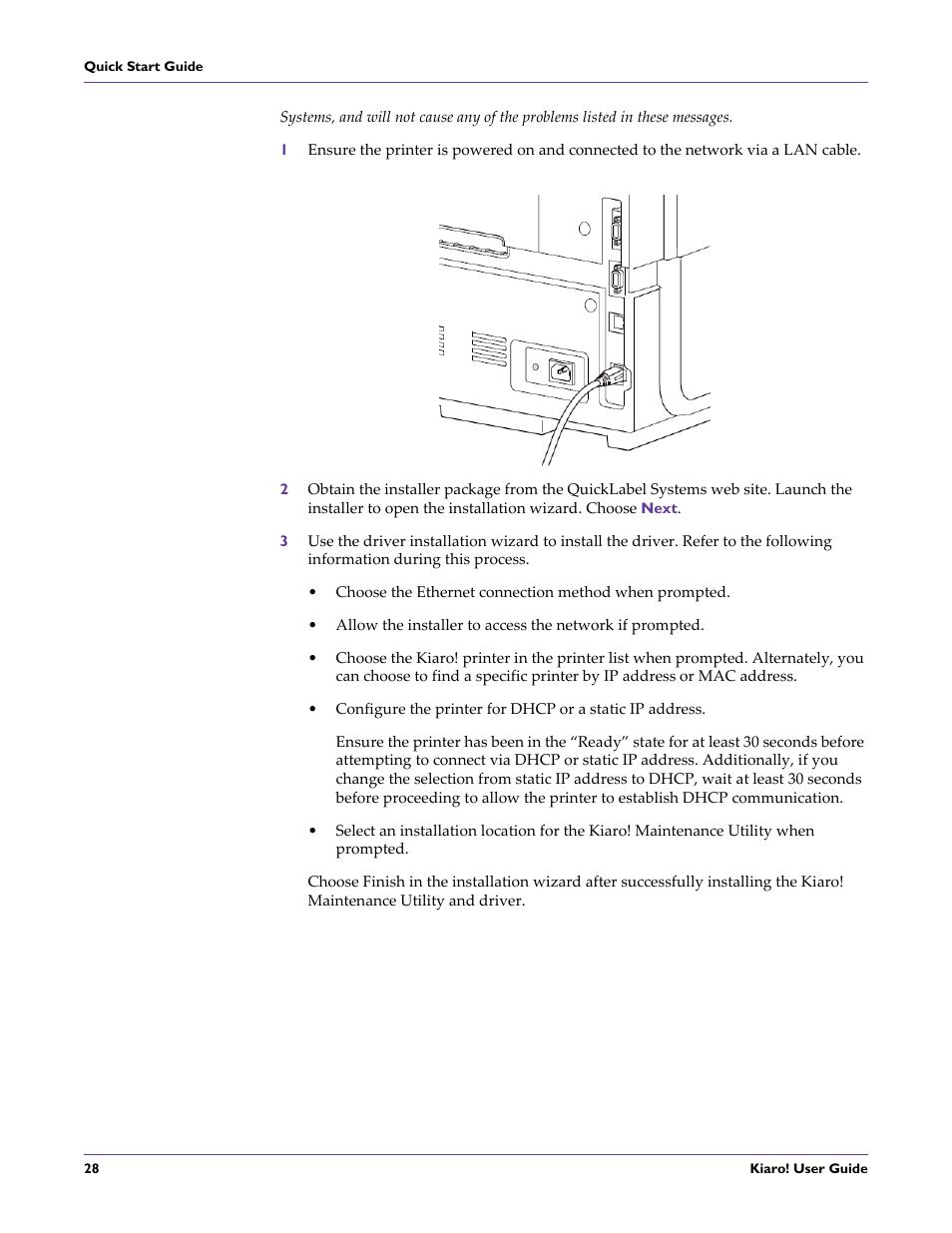 QuickLabel Kiaro! User Manual | Page 44 / 166 | Also for: Kiaro! D