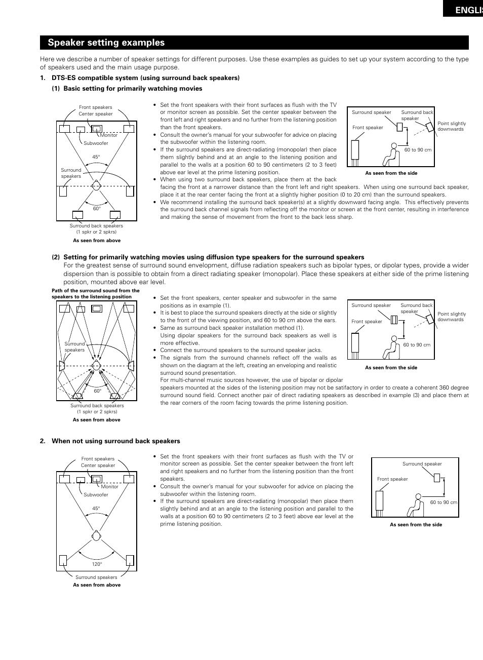 Denon Avr 1200 User Manual