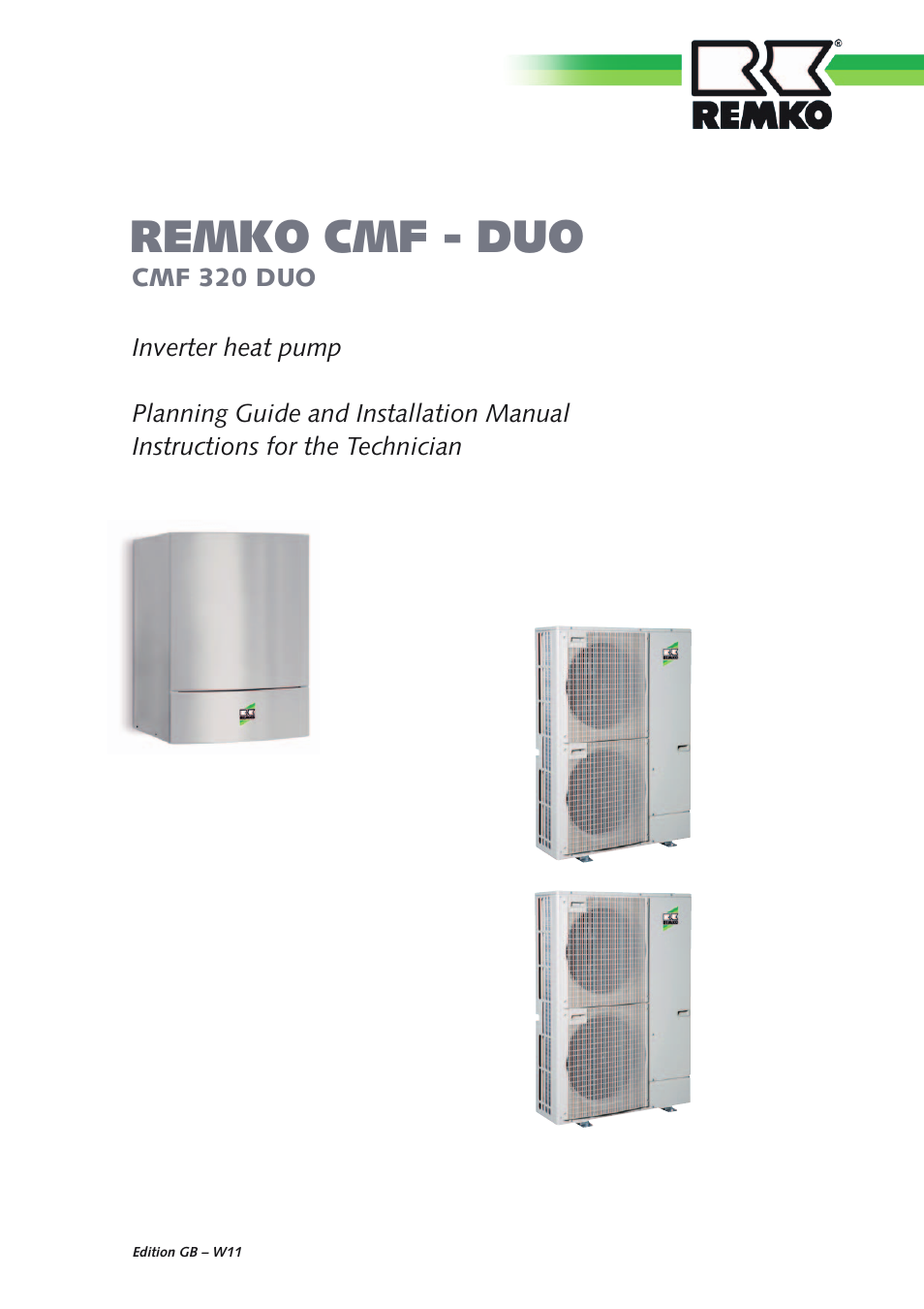 REMKO CMF 320 Duo User Manual | 60 pages