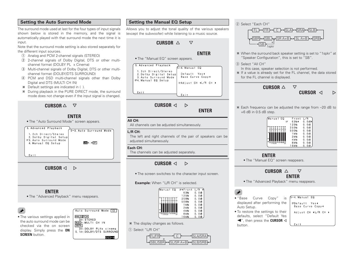 Denon AVR-4306 User Manual | Page 80 / 146