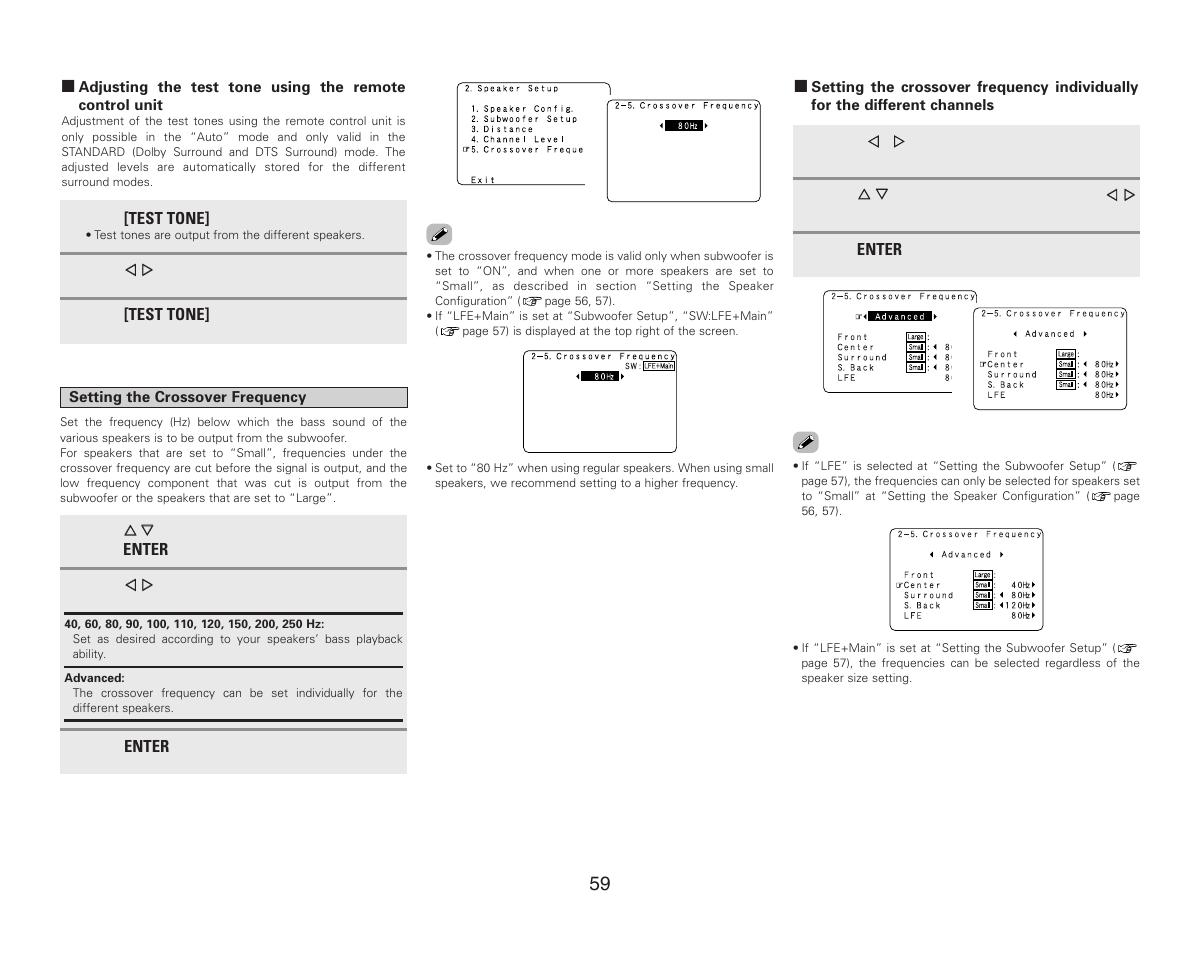Denon AVR-987 User Manual   Page 63 / 80
