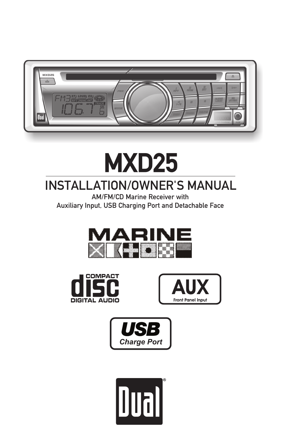Dual Mxd25 User Manual 12 Pages Nikon D40 Usb Cable Schematic