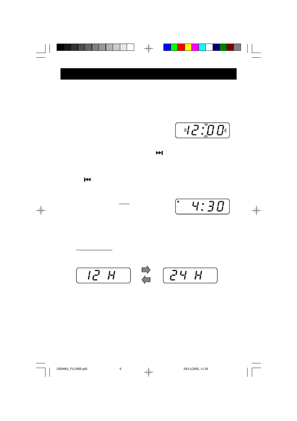 operating instructions setting the time of day emerson radio rh manualsdir com