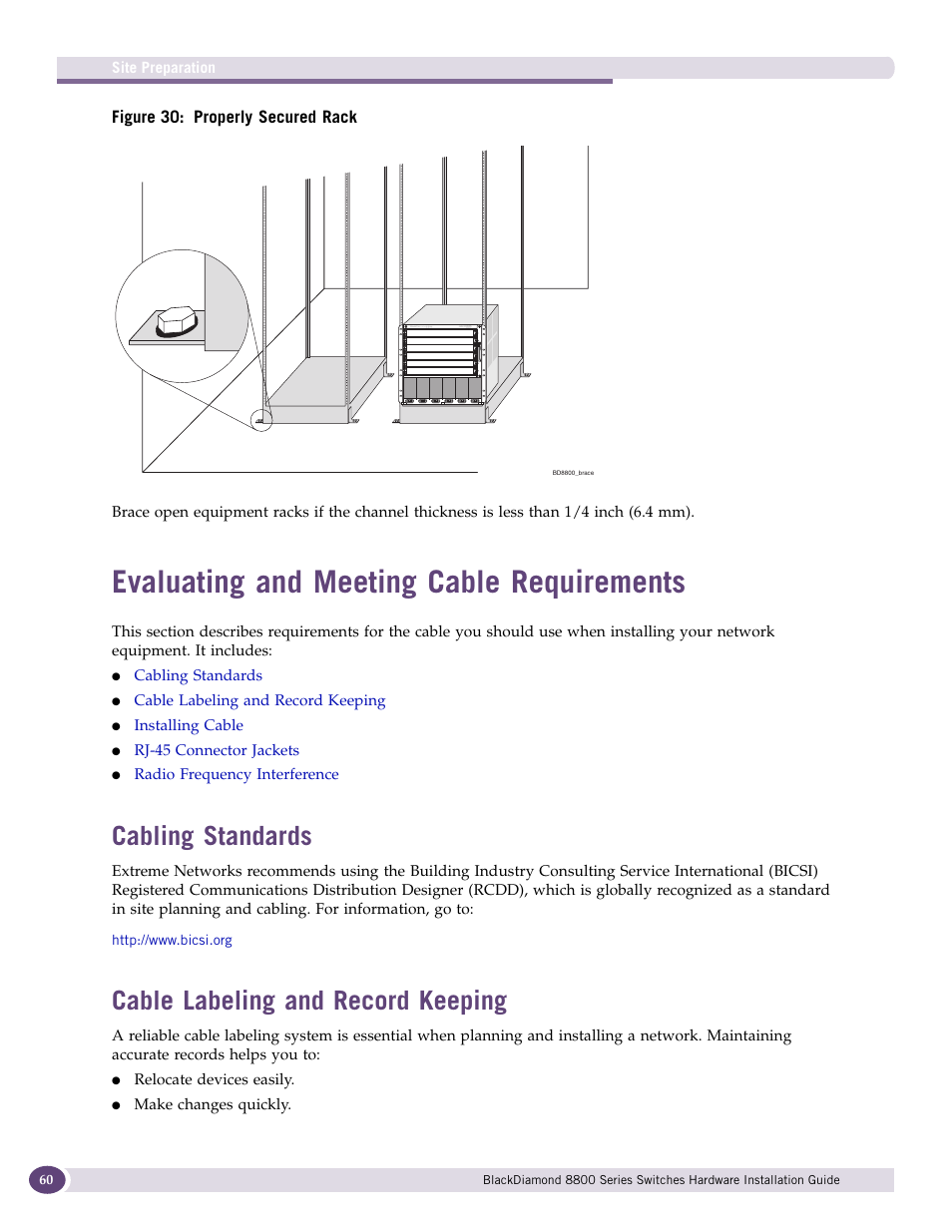 Evaluating and meeting cable requirements, Cabling standards, Cable  labeling and record keeping | Own
