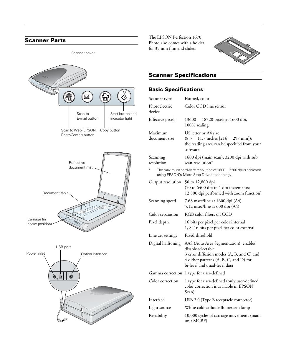 epson 1670 perfection сканера инструкция