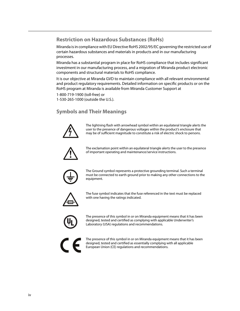 Restriction On Hazardous Substances Rohs Symbols And Their