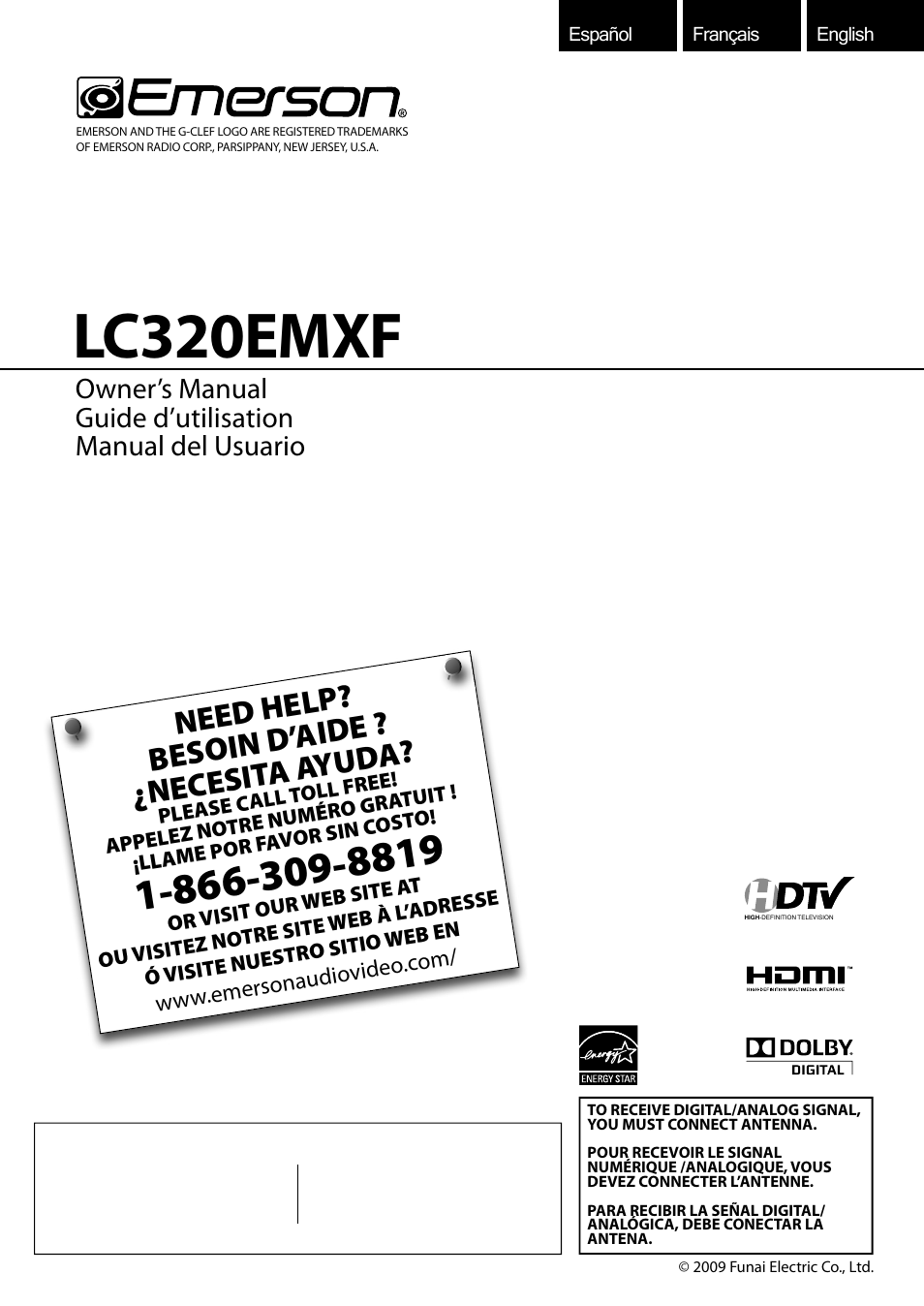 emerson lc320emxf user manual 116 pages rh manualsdir com emerson lc320emxf tv manual emerson lc320emxf service manual