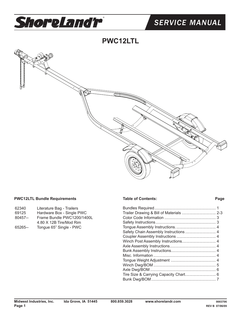 2 Post Winch Wiring Diagram Shorelandr Pwc12ltl V2 User Manual 8 Pages