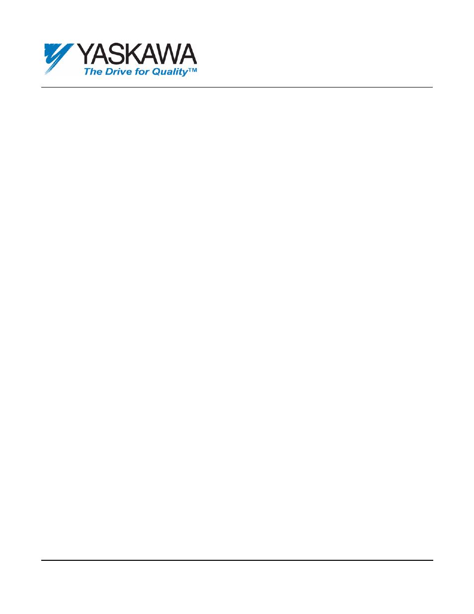 Yaskawa P7 Drives User Manual   7 pages