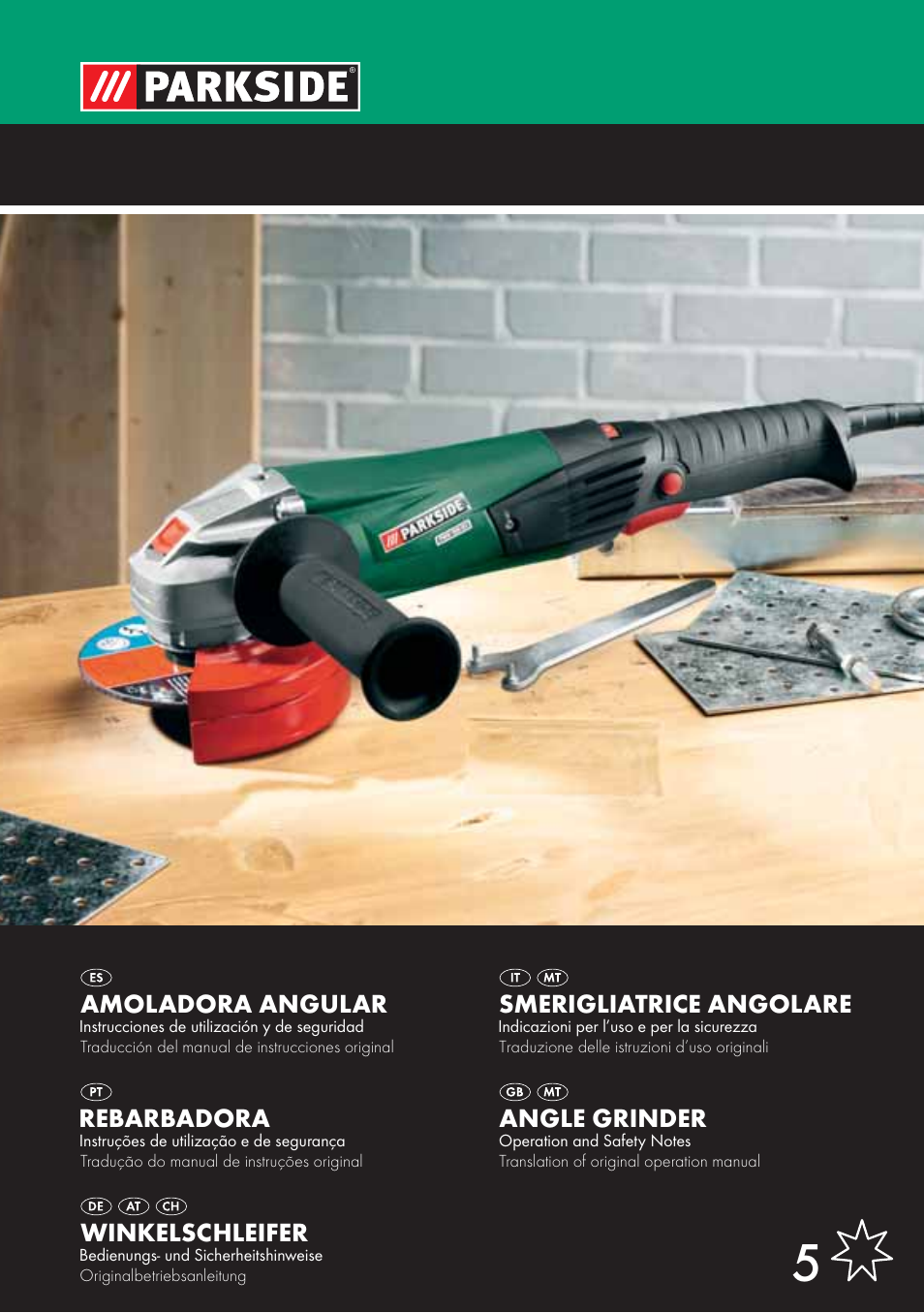 Parkside PWS 125 A1 User Manual | 85 pages